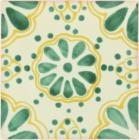 Green Lace Talavera Mexican Tile