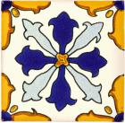 3x3 Taxco - Talavera Mexican Tile by Size