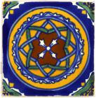 3x3 Constelacion - Talavera Mexican Tile by Size