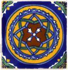 3x3 Constelacion - Talavera Mexican Tile
