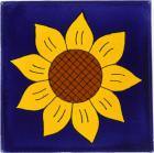 Sunflower 1 Talavera Mexican Tile