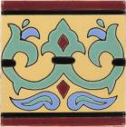 Alcazar Border Santa Barbara Ceramic Tile