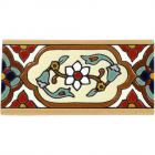 Jazmin 2 Border Santa Barbara Ceramic Tile