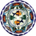 Acapulco - Talavera Ceramic Round Drop-In Bathroom Sink