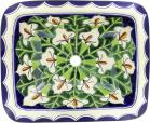 Callalilies - Talavera Rectangular Drop-In Bathroom Sink