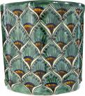 60245-ceramic-talavera-mexican-hand-painted-wastebaskets-1