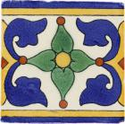 Alanis 2 Border Handmade Siena Vetro Ceramic Tile