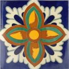 12�  x 12�  Firenze Terra Nova Hand Painted Floor Tile