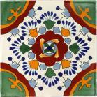 Valle Terra Nova Hand Painted Floor Tile