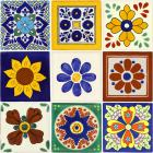 x4005-1-talavera-ceramic-mexican-decorative-tile-set-1