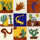 x4009-1-talavera-ceramic-mexican-decorative-tile-set-1