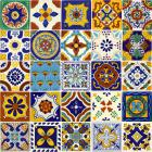 x6022-1-talavera-ceramic-mexican-decorative-tile-set-1