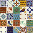 x6056-1-talavera-ceramic-mexican-decorative-tile-set-1