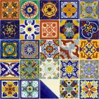 x6058-1-talavera-ceramic-mexican-decorative-tile-set-1