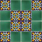 x7117-1-talavera-ceramic-mexican-decorative-tile-set-1